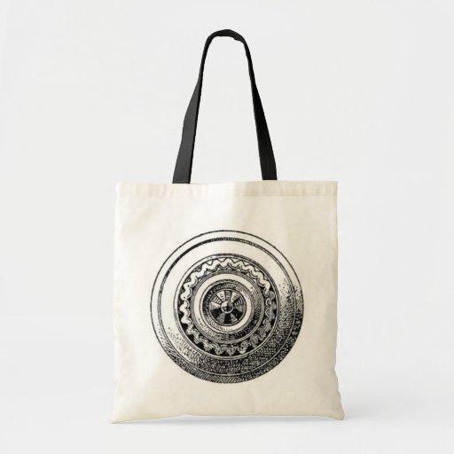 Bolso medieval de los escudos bolsas