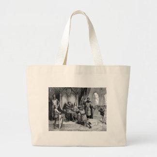 Bolso medieval del caballero bolsa lienzo