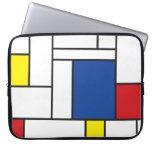 Bolso minimalista de la electrónica del arte de fundas ordendadores