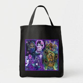 Bolso místico de los bailarines bolsa tela para la compra