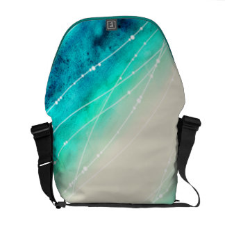 Bolso modelado arena de mar pintado moderno de la  bolsas de mensajeria
