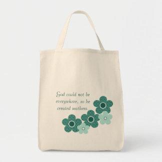 Bolso modelado madres creado dios de la flor, bolsas