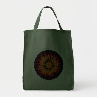 Bolso modelado naranja bolsa tela para la compra