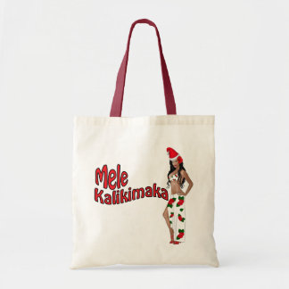 Bolso modelo 2 del navidad de Wahine Mele Kalikima Bolsa De Mano