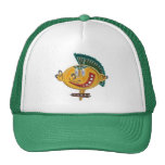 Bolso moderno del muchacho del dibujo animado gorras