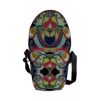 Bolso moldeado del nativo americano bolsa de mensajeria