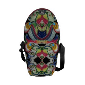Bolso moldeado del nativo americano bolsas messenger