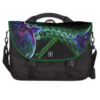 Bolso multicolor del ordenador portátil del viajer bolsas de ordenador