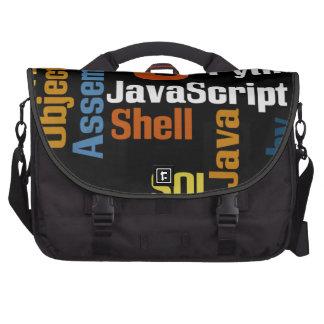 Bolso multilingüe del ordenador portátil/del viaje bolsas para ordenador