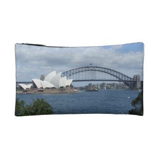 Bolso o embrague cosmético del puerto de Sydney