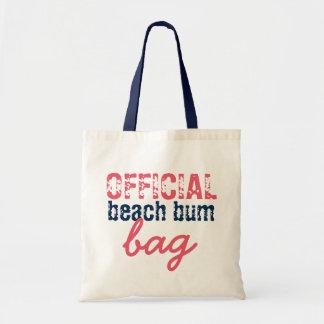 Bolso oficial del vago de la playa - rosa bolsa tela barata