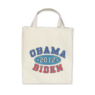 Bolso orgánico colegial de Obama y de ultramarinos Bolsas De Mano