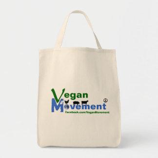 Bolso orgánico del movimiento del vegano bolsa tela para la compra