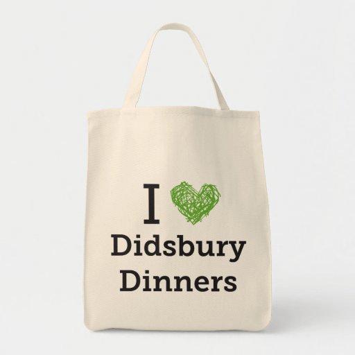 Bolso orgánico del tote de las cenas de Didsbury Bolsa Tela Para La Compra