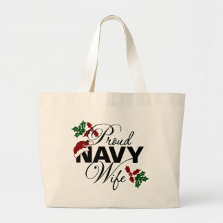 Bolso orgulloso del acebo del navidad de la esposa bolsas de mano