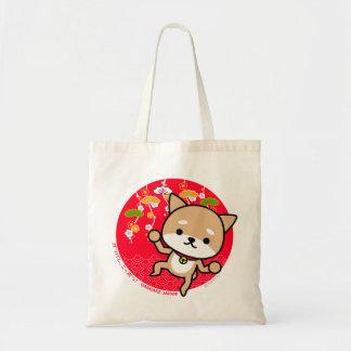 Bolso - perrito - rojo japonés bolsa tela barata