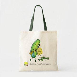 bolso personal del pepino de la ayuda bolsa tela barata