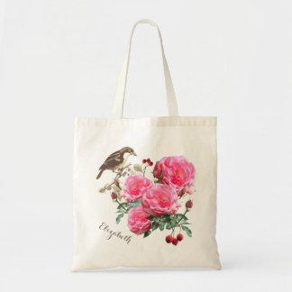Bolso personalizado Boho del pájaro y del regalo Bolsa Tela Barata