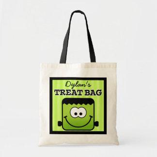 Bolso personalizado de la invitación de Halloween Bolsa Tela Barata
