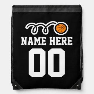 Bolso personalizado de la mochila del lazo del bal