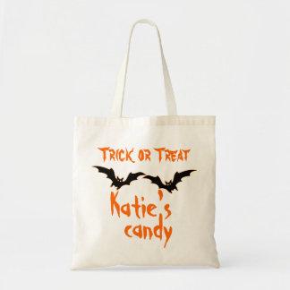 Bolso personalizado del caramelo de Halloween Bolsas