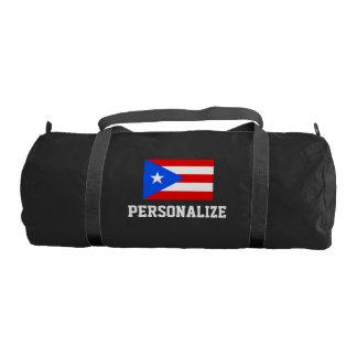 Bolso personalizado del gimnasio de la lona de la bolsa de deporte
