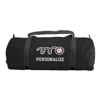 Bolso personalizado del gimnasio de la lona del bolsa de deporte
