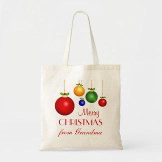 Bolso personalizado del regalo del navidad bolsa