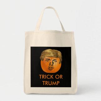 Bolso personalizado del truco o de la invitación bolsa tela para la compra