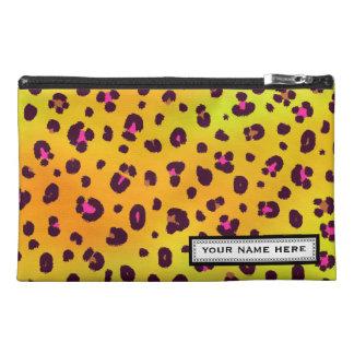 Bolso personalizado leopardo anaranjado del