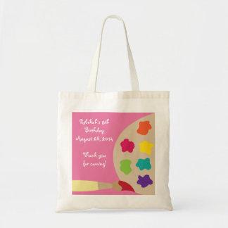 Bolso personalizado paleta del arte - rosa bolsa de mano