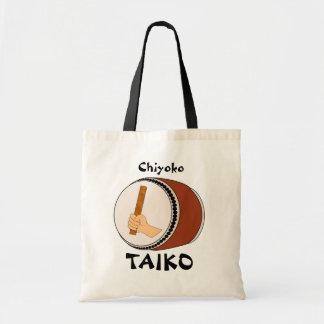 Bolso personalizado que teclea japonés del tambor  bolsa de mano