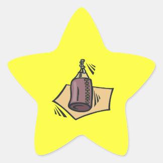Bolso pesado colcomanias forma de estrellaes personalizadas