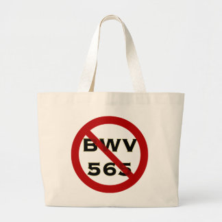 Bolso prohibido de BWV 565 Bolsa Tela Grande