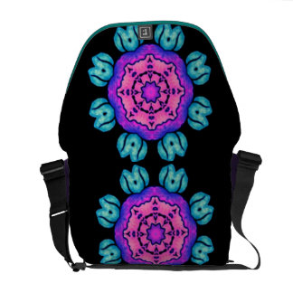 Bolso Púrpura-Azul del ordenador portátil del mens Bolsa De Mensajería