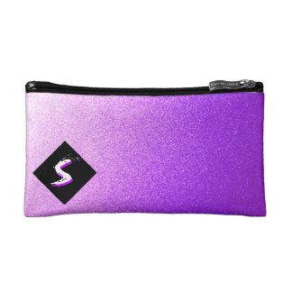 Bolso púrpura de Bagettes de la escama del metal