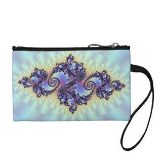 Bolso púrpura de Bagettes del arte del remolino