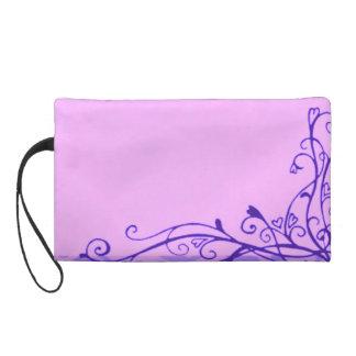 Bolso púrpura de Bagettes del mitón de los corazon