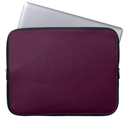 Bolso púrpura de la electrónica de la manga del or manga portátil