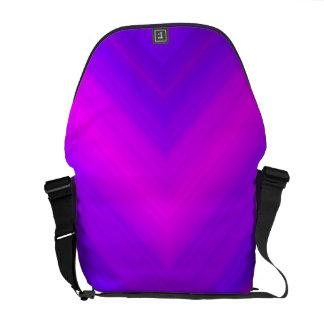 Bolso púrpura de Messengar de la pasión Bolsa De Mensajeria