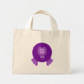 Bolso púrpura de Pom Pom PAL del bebé Bolsa De Tela Pequeña