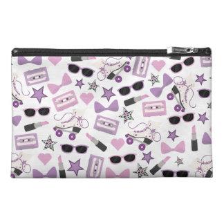 Bolso púrpura del accesorio del viaje del modelo