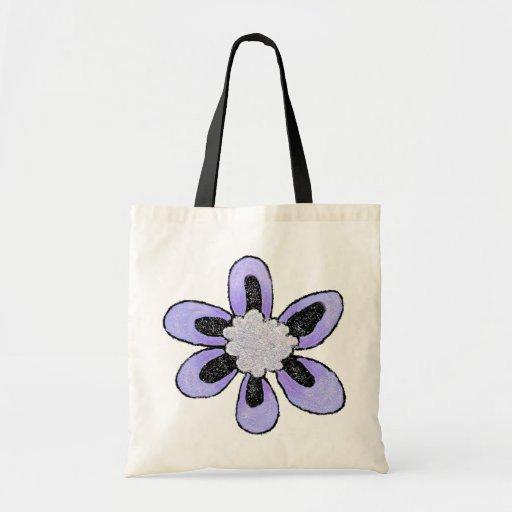 Bolso púrpura del brillo bolsa tela barata