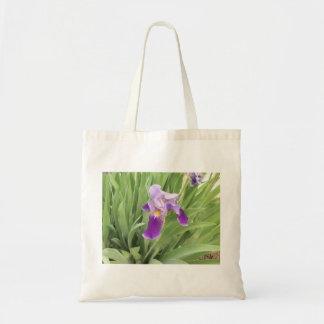 Bolso púrpura del iris bolsa de mano
