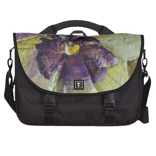 Bolso púrpura del ordenador del pensamiento bolsas de portátil