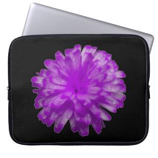 Bolso púrpura del ordenador portátil de la fundas portátiles
