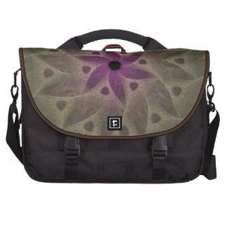 Bolso púrpura del ordenador portátil del viajero d bolsas para portatil
