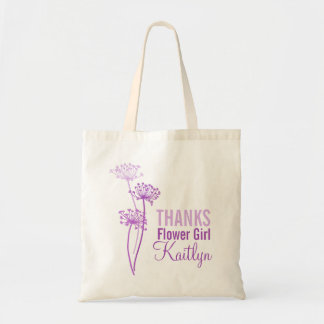 Bolso púrpura moderno del florista del perejil de