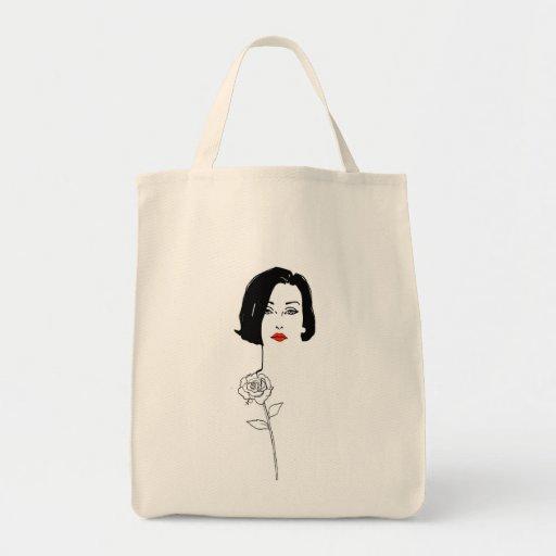 Bolso que lleva de moda bolsa tela para la compra