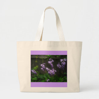 bolso que viaja de las campanas púrpuras bolsa